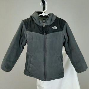The North Face Boy's Reversible Puffer Fleece Coat